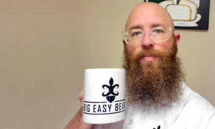 Ellis moves from growing a beard to growing his business