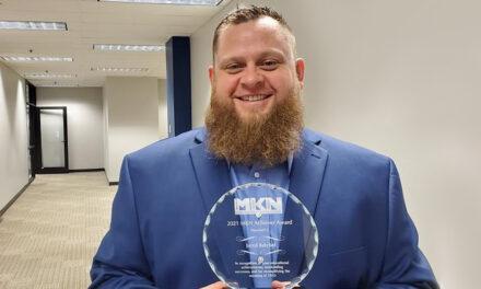 Jared Reichel '16 earns distinguished MO-KAN-NE TRiO Achiever Award