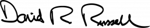 Dr. David Russell signature